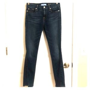 7 for all mankind b(air) angle ankle skinny denim